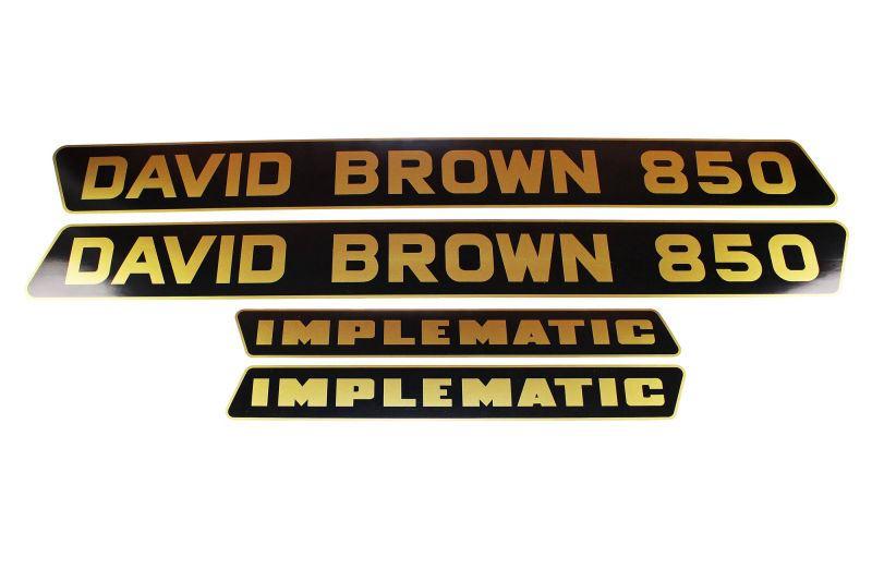 David Brown Case 1412 tractor bonnett  Stickers decals